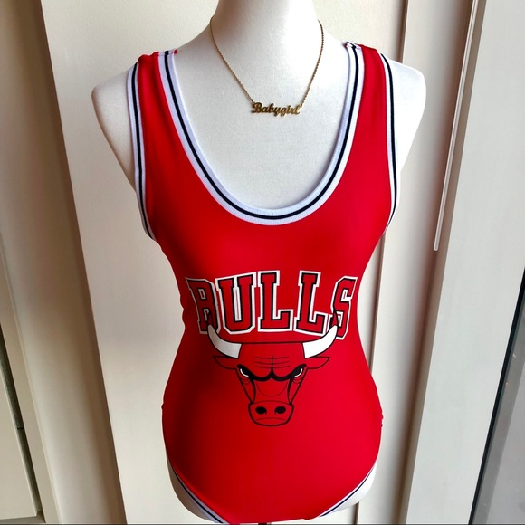 14b1a94cf08223 Forever 21 Tops - Chicago Bulls Body Suit • NWOT